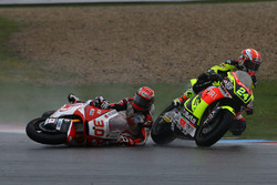 Unfall: Simone Corsi, Speed Up Racing; Takaaki Nakagami, Honda Team Asia