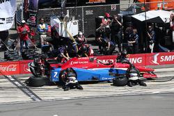 Михаил Алешин, Schmidt Peterson Motorsports Honda на пит-стопе