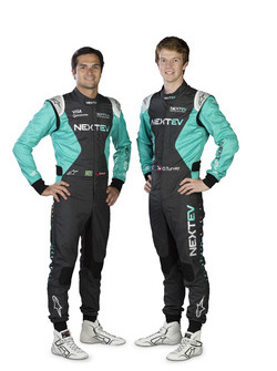 Nelson Piquet Jr. und Oliver Turvey, NeXTEV TCR Formula E Team