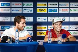 Conferencia de prensa: Daniel Juncadella, Mercedes-AMG Team HWA, Mercedes-AMG C63 DTM y Mike Rockenfeller, Audi Sport Team Phoenix, Audi RS 5 DTM