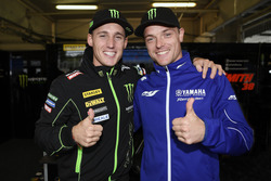 Pol Espargaró and Alex Lowes, Tech 3 Yamaha