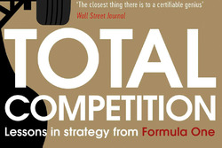 """Cover des Buchs von Ross Brawn und Adam Parr: """"Total Competition: Lessons in Strategy from Formula One"""""""
