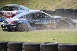 #38 Next Level European Porsche Cayman: Dan Rogers, Seth Thomas, spins