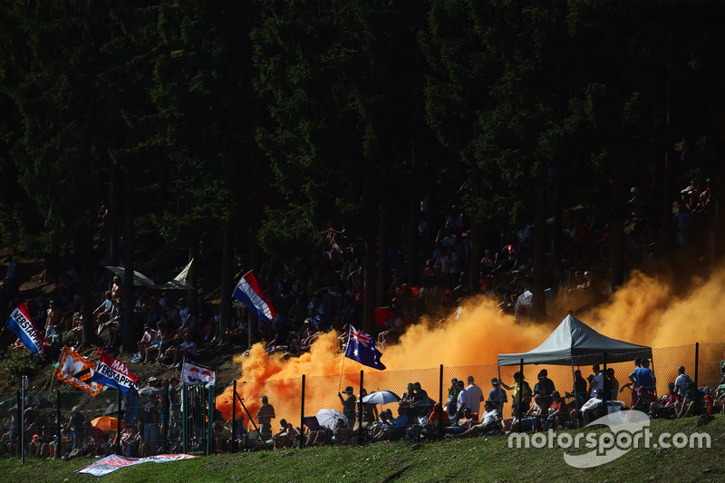 Tifosi di Max Verstappen, Red Bull Racing RB12