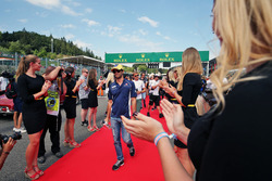 Felipe Nasr, Sauber F1 Team nella sfilata dei piloti