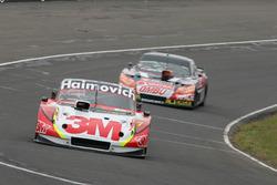 Segundo lugar Mariano Werner, Werner Competicion Ford, y el tercer lugar Facundo Ardusso, JP Racing Dodge