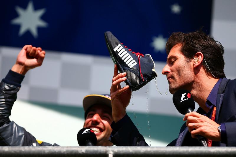 Daniel Ricciardo, Red Bull Racing con Mark Webber