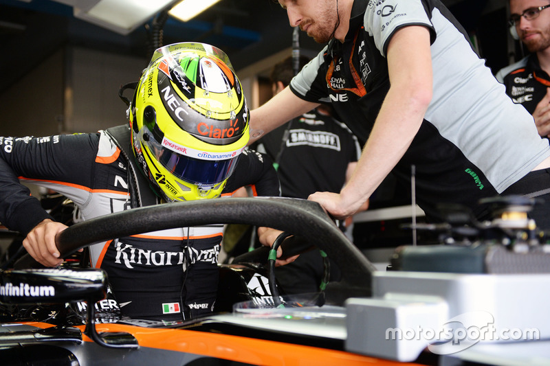 Серхіо Перес, Sahara Force India F1 VJM09 і Halo
