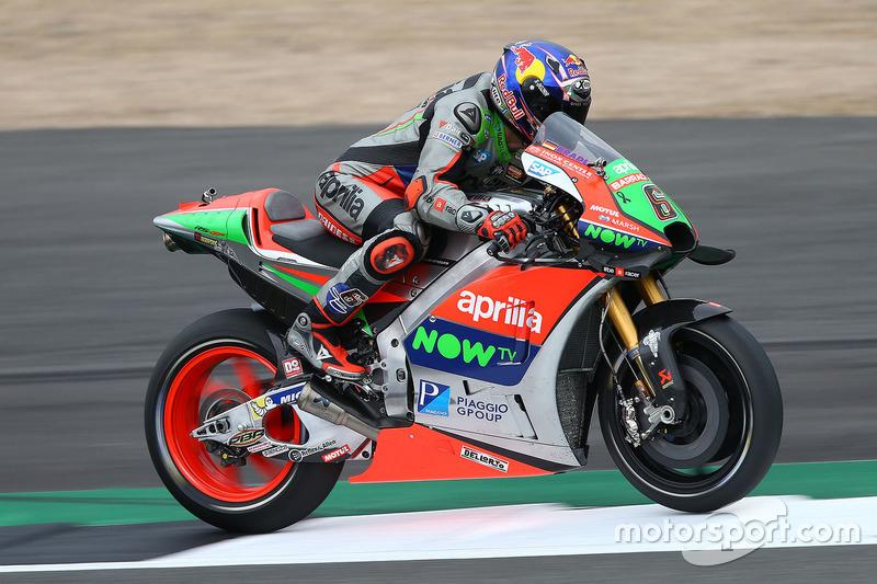 Ausfall: Stefan Bradl, Aprilia Racing Team Gresini