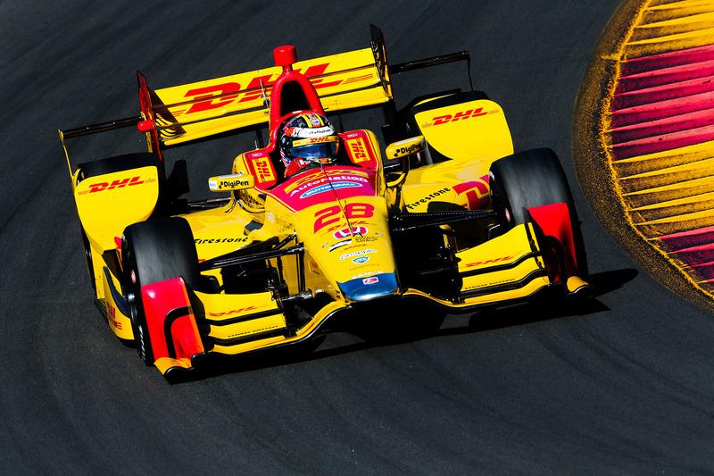 Райан Хантер-Рей, №28, Andretti Autosport Honda
