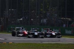 Raffaele Marciello, RUSSIAN TIME leads Nobuharu Matsushita, ART Grand Prix and Oliver Rowland, MP Motorsport