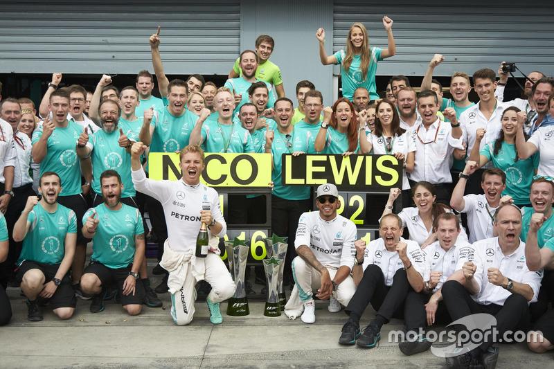 14. GP de Italia 2016: Nico Rosberg (1º)