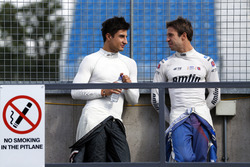 Mitch Evans, Jaguar Racing and Antonio Felix da Costa, Amlin Andretti Formula E Team