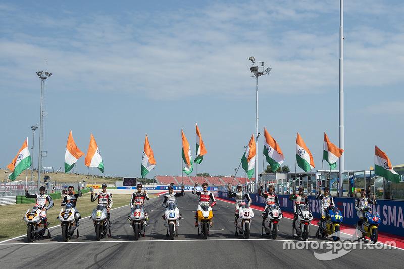 Pilotos de Mahindra Moto3