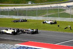 Daniil Pronenko, BVM Racing and Antoni Ptak, RP Motorsport kaza