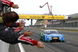 Racewinner Edoardo Mortara, Audi Sport Team Abt Sportsline, Audi RS 5 DTM