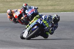 Валентино Россі, Yamaha Factory Racing, Хорхе Лоренсо, Yamaha Factory Racing, Дані Педроса, Repsol Honda Team