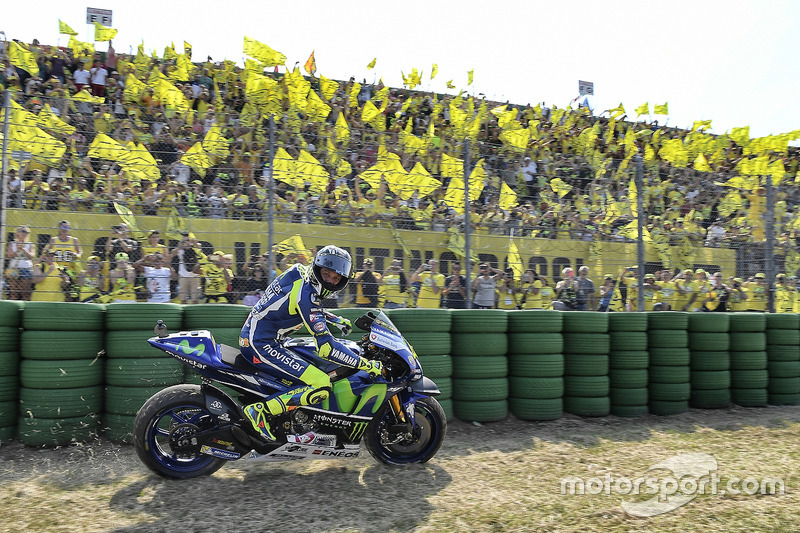 Rossi-Party und kein Ende