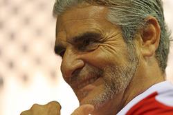 Maurizio Arrivabene Director del equipo Scuderia Ferrari
