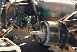 Mercedes AMG F1 W07 Hybrid, brake detail