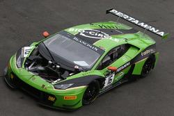 #16 GRT Grasser Racing Team, Lamborghini Huracan GT3: Jeroen Bleekemolen, Mirko Bortolotti, Rolf Ineichen