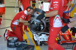 Ferrari SF16-H, brakes