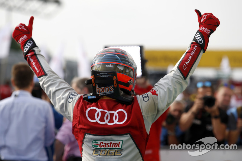 Budapest (Carrera 1): Edoardo Mortara Audi Sport Team Abt Sportsline, Audi RS 5 DTM