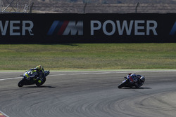 Valentino Rossi, Yamaha Factory Racing y Jorge Lorenzo, Yamaha Factory Racing