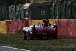 End of the road for #10 Lotus X Le Mans (1955): Malcolm Paul, Rick Bourne