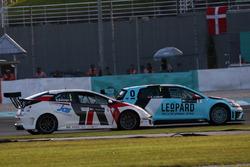 Roberto Colciago, Honda Civic TCR, Target Competition en Stefano Comini, Volkswagen Golf GTI TCR, Leopard Racing