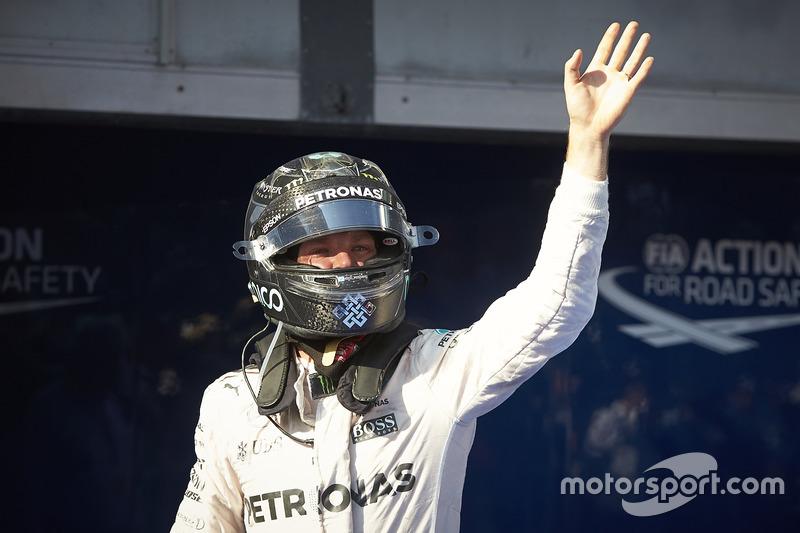 Tercero, Nico Rosberg, Mercedes AMG F1