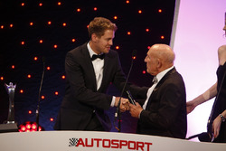 Sebastian Vettel und Sir Stirling Moss bei den Autosport Awards