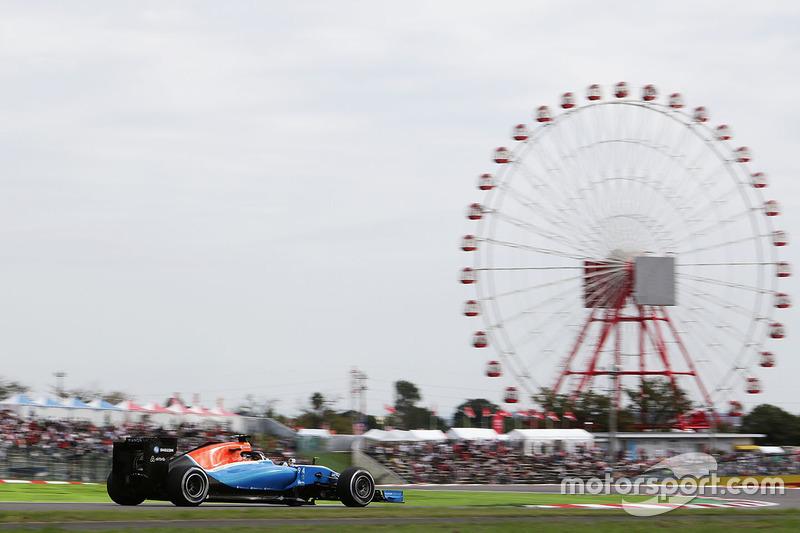 21: Pascal Wehrlein, Manor Racing MRT05 (5 posiciones de sanción incluidas)