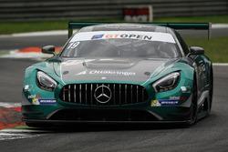 #19 Lechner Racing Mercedes-AMG GT3: Mario Plachutta, Thomas Jäger