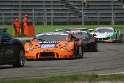 #27 Orange 1 Team Lazarus Lamborghini Huracan GT3: Thomas Biagi, Fabrizio Crestani