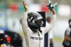 Polesitter Nico Rosberg, Mercedes AMG F1 W07 Hybrid