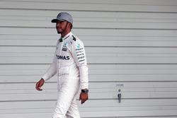 Lewis Hamilton, Mercedes AMG F1 en la clasificación de parc ferme