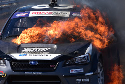 Feuer am Auto von Toshihiro Arai, Subaru