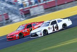 Jeff Green, Toyota; Justin Allgaier, JR Motorsports, Chevrolet