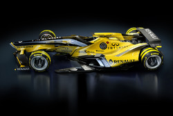 Renault F1 Team 2030 fantasy design