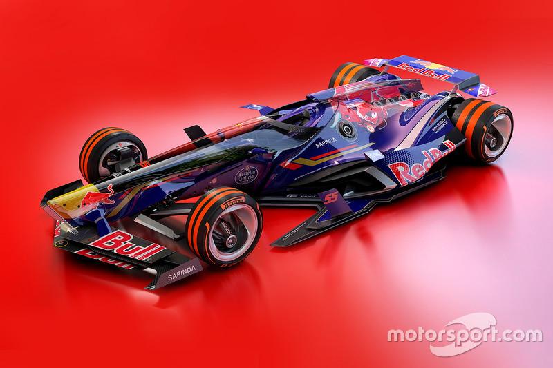 Designstudie: Toro Rosso 2030