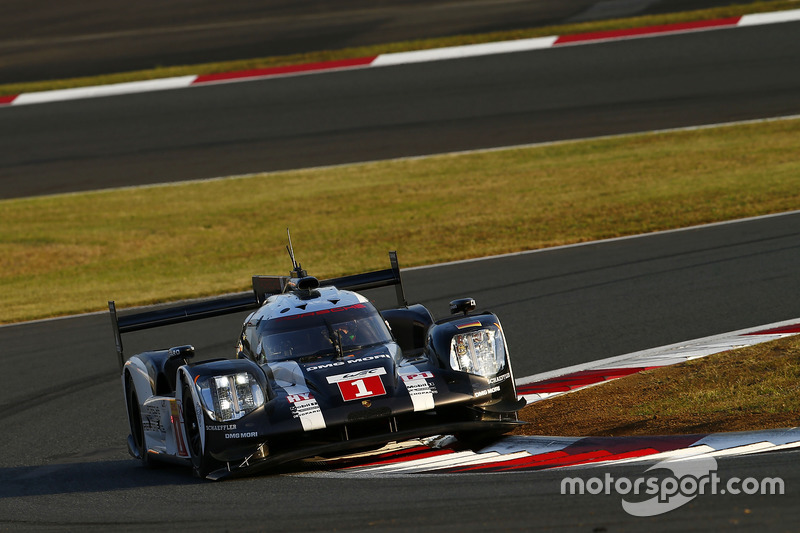 2. LMP1: #1 Porsche 919: Timo Bernhard, Mark Webber, Brendon Hartley