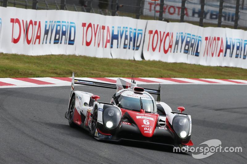 1. LMP1: #6 Toyota TS050 Hybrid: Stephane Sarrazin, Mike Conway, Kamui Kobayashi