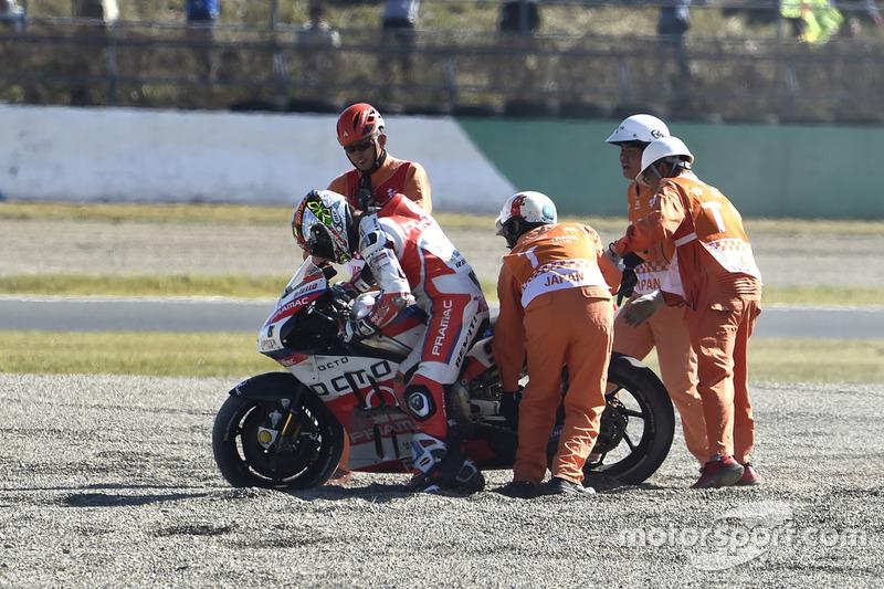 Аварія Даніло Петруччі, Pramac Racing