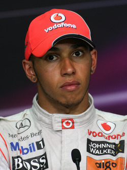 Press conference: second place Lewis Hamilton, McLaren Mercedes