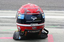 Helmet of Simon Pagenaud, Dreyer & Reinbold Racing