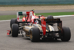 Felipe Massa, Scuderia Ferrari and Vitaly Petrov, Lotus Renalut F1 Team