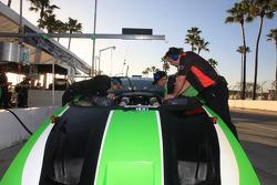 Jaguar RSR team members at work