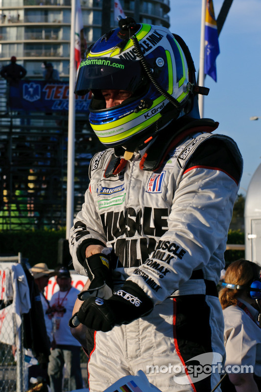Le vainqueur Klaus Graf