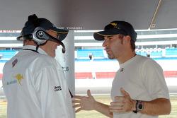 Derrick Walker and Alex Tagliani